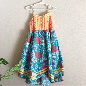 Matilda Jane Floral layered fit flare dress 8